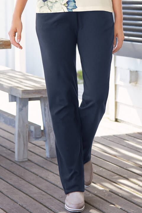 Plain Jersey Trousers