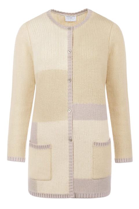 Cotton blend coatigan